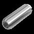 ISO 8752, Spannhülse, Federstahl verzinkt, 10x45