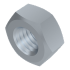 DIN 934, Sechskantmutter mit metr. Regelgewinde, Stahl 8 verzinkt, Großpaket (25 kg), M10