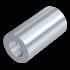 Verbindungsmuffe für Gewindestangen, Stahl verzinkt, M10x30
