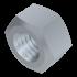 DIN 980 V, Sechskantmutter, M-Regelgewinde, Stahl 8 verzinkt, M10