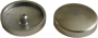 Baumann Abdeckkappe für Treppenschraube, vernickelt