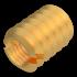 Ensat Gewindeeinsatz (Werksnorm 309), Messing, M3